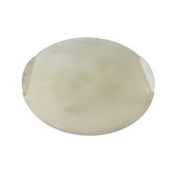 Plaque de cuisson à pizza 25cm vue de face