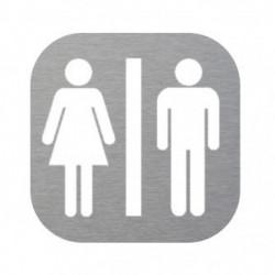 Plaque de porte wc femme homme