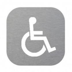 Plaque de porte signalétique handicapé