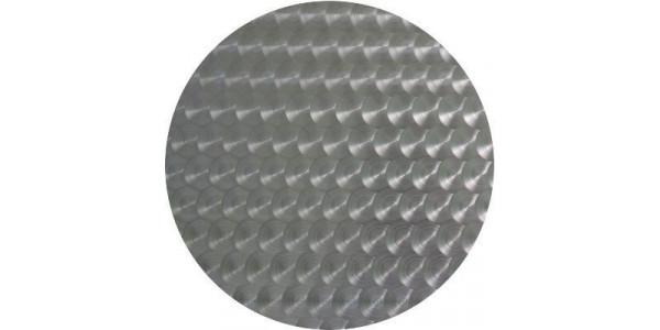 Plaque inox bouchonn ronde d coupe sur mesure for Plaque en inox sur mesure