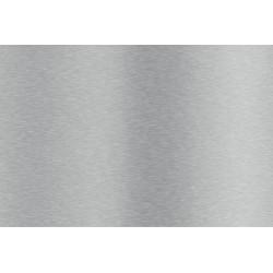 plaque inox brossé sur mesure