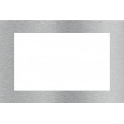 Cadre inox rectangulaire