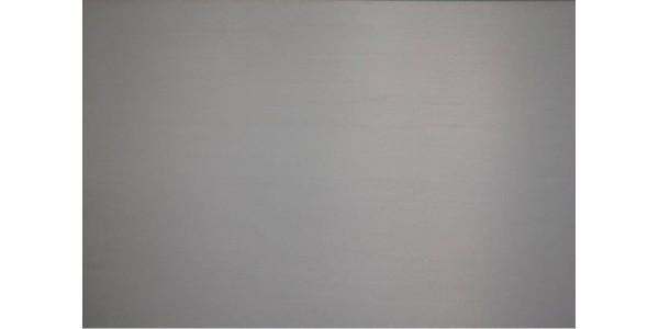 plaque inox brut brillant rectangulaire