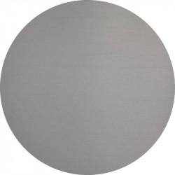 plaque inox brut brillant ronde