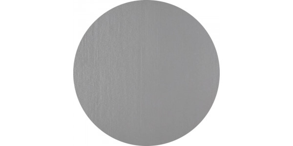 Plaque inox brut forme ronde - acier inoxydable 304L