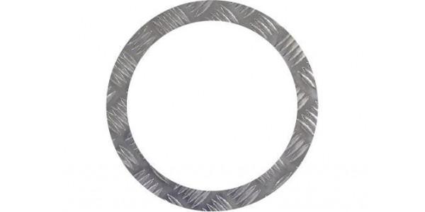 rondelle aluminium damier sur mesure
