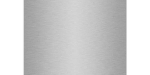 plaque aluminium brossé anti-traces sur mesure