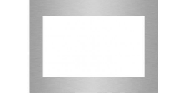 cadre aluminium brossé anti-traces sur mesure