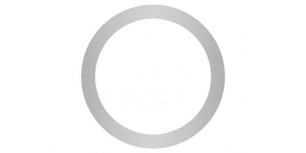 rondelle aluminium brossé anti-traces sur mesure