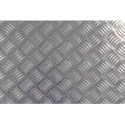 plaque aluminium damier sur mesure