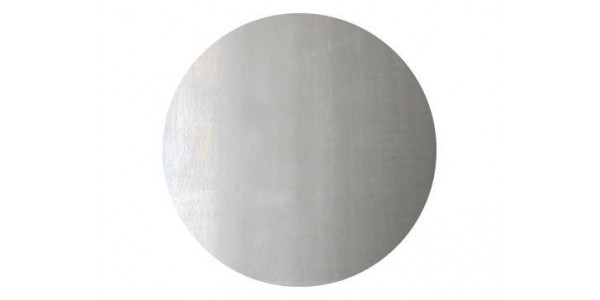 Plaque acier brut décapé ronde