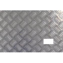 Plaque aluminium damier 1 trou