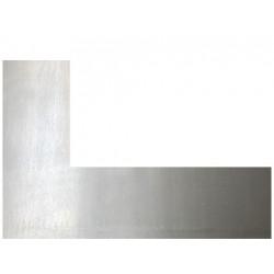 Plaque acier brut décapé découpe droite