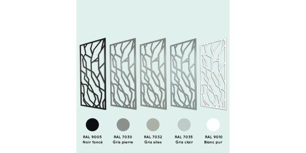 Cornière aluminium damier