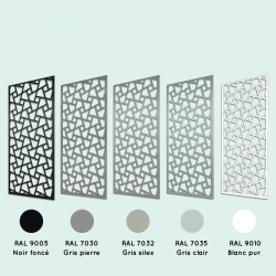 Brasero inox diamètre 60 cm