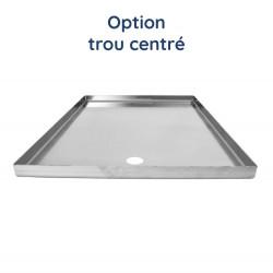 Plaque aluminium brut ronde
