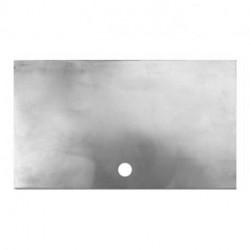Rondelle aluminium brut