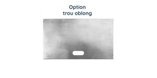 Cadre aluminium brut