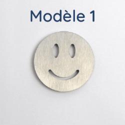 Plaque aluminium brut 2 découpes