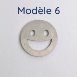 Rondelle aluminium brut 4 trous