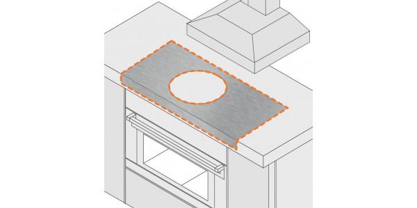 Rondelle aluminium brut 6 trous