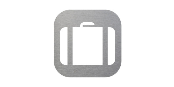 Plaque signalétique picto bagage