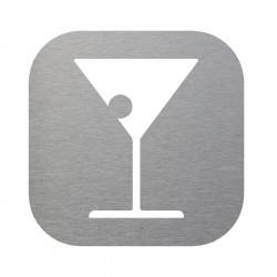 Plaque signalétique pour espace bar lounge