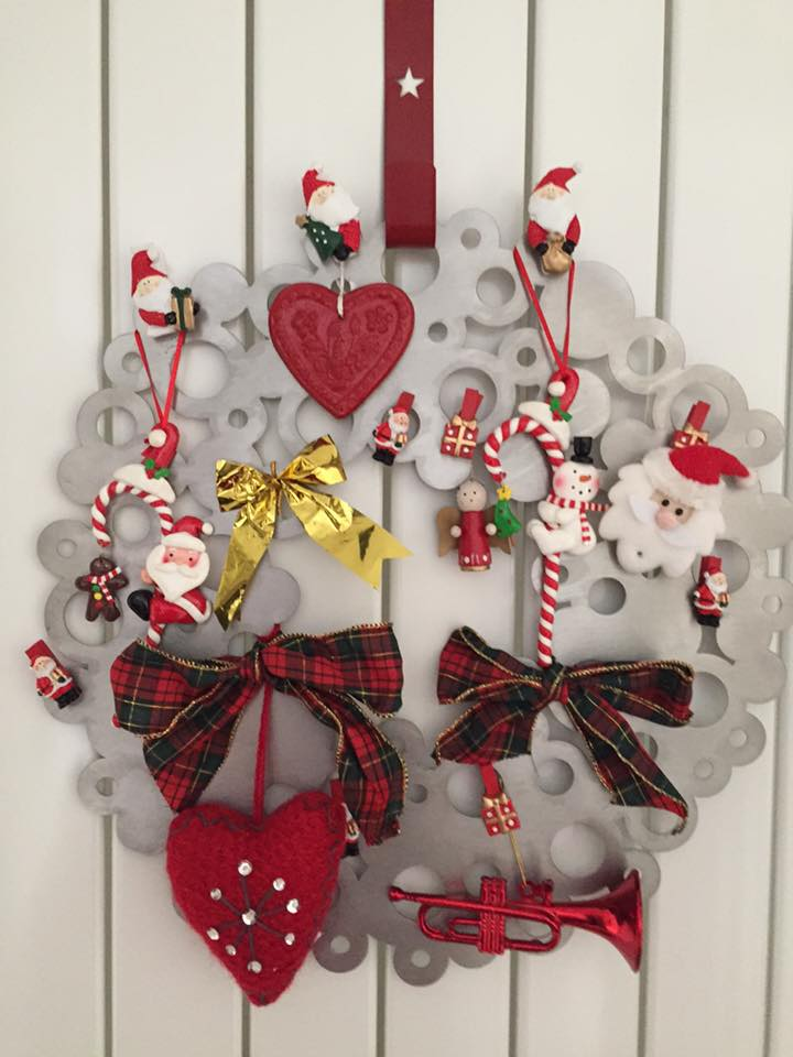 Couronne inox décoration client