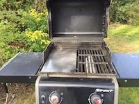 Plancha pour barbecue