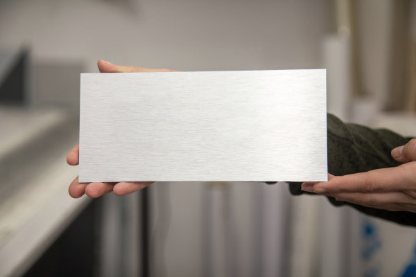Plaque aluminium sur mesure
