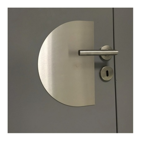 Plaque inox brosse pour cuisine maison design for Protection inox cuisine