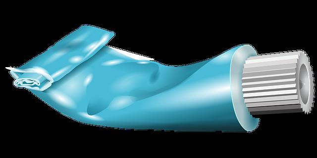 Dentifrice rayure inox